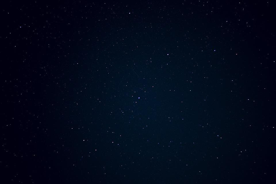 Night Sky, Stars, Dark, Space, Starry