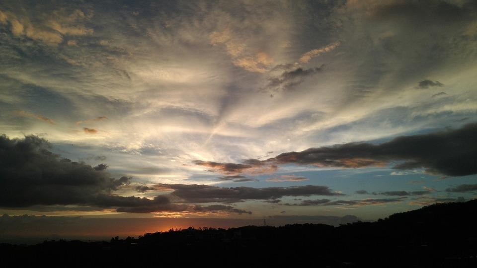 Taipei, The Evening Sun, Night, Twilight, Sunset