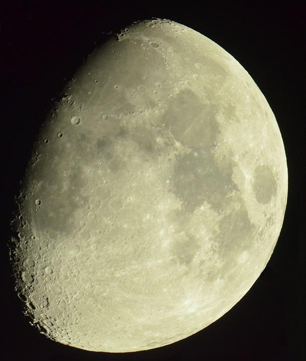Moon, The Moon Through The Levenguck Telescope, Night