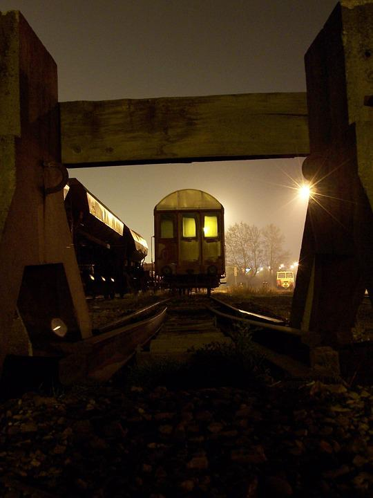 Train, Wagon, Night