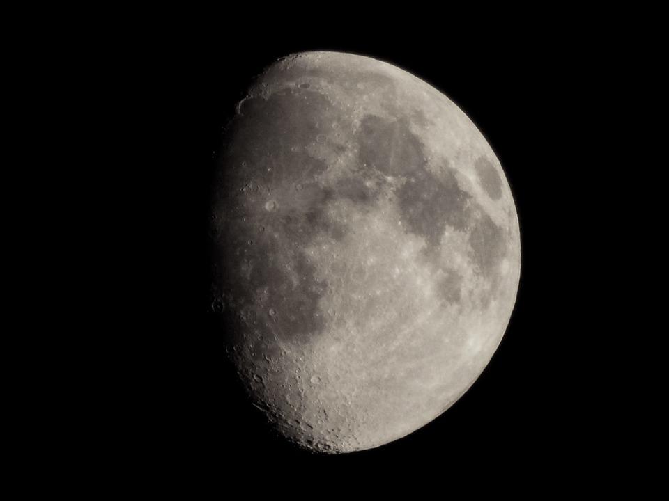 Wallpaper, Background, Month, Night, Apollo, Moon