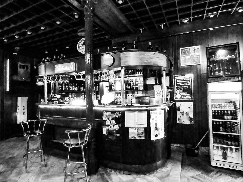 Pub, Bar, At Night, Lights, Lamp, Light, Nightclub