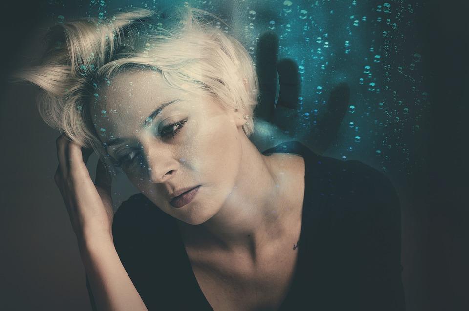 Woman, Worried, Nightmare, Stress, Stressed, Emotion