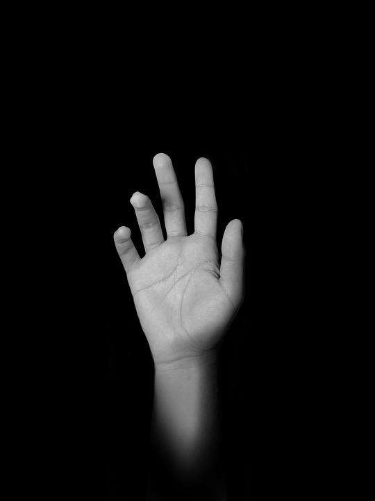 Dark, Mysterious, Fantasy, Nightmares, Hand, Depression