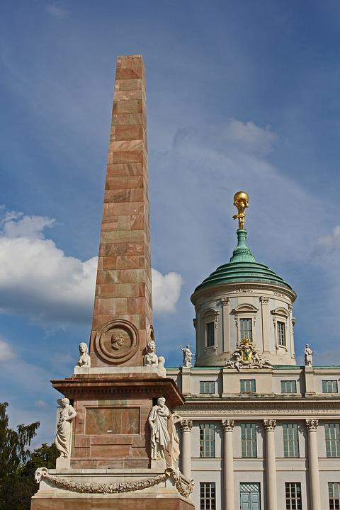 Potsdam, At The Old Market, Nikolai Church
