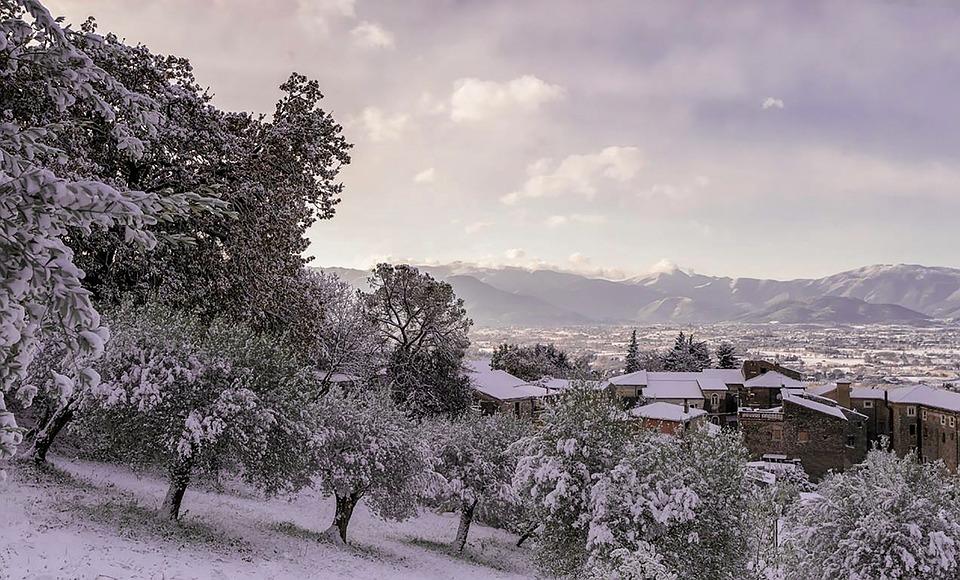 Snow, Castrocielo, Italy, Lazio, Nikon, Zeiss