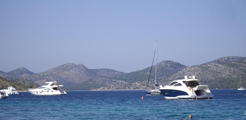 Croatia, Nin, Boat, Coast, Vacations, Mediterranean