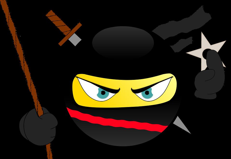 Ninja-Smiley-Japan-Sneak-Ninja-Star-Atta