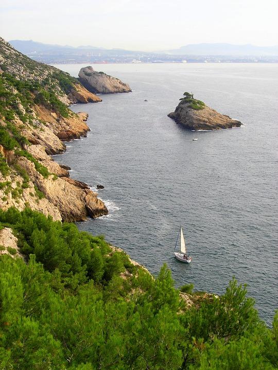 Marseille, Sea, Side, Provence, Niolon L'estaque