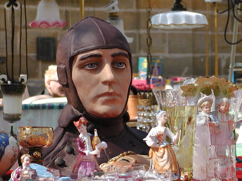 Flea Market, Junk, Nippes, Virtual World, Doll, Flyer
