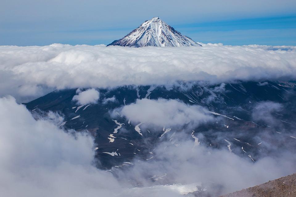 Snow, Mountain, No One, Panoramic, Nature, Cloud