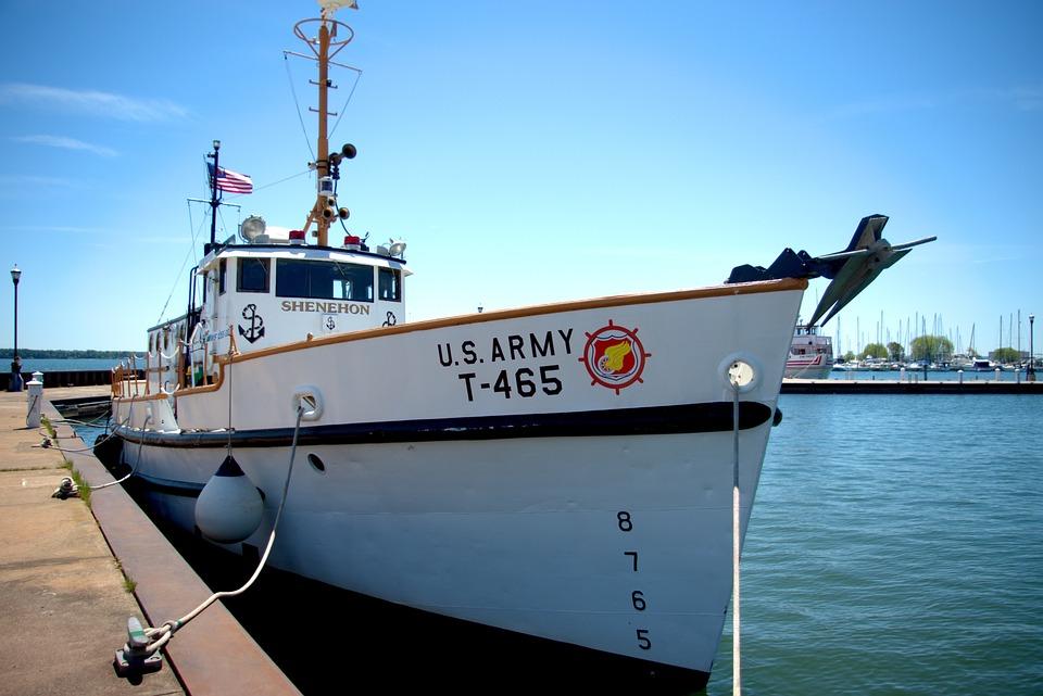 Noaa Research Boat Shenehon, Research, Vessel, Shenehon
