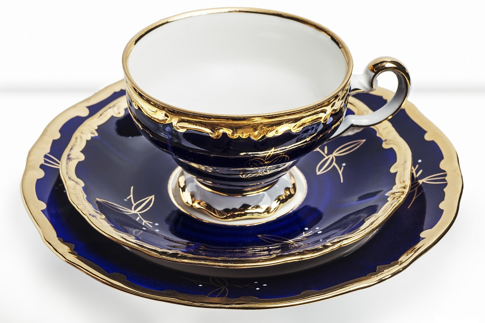 Noble, Porcelain, Coffee Cup