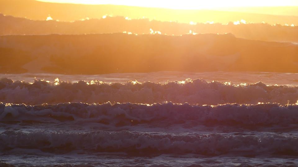 Sunset, Nobody, Nature, Heaven, Dawn, Body Of Water