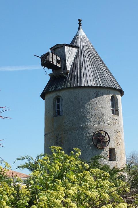 Mill, Noirmoutier, Heritage