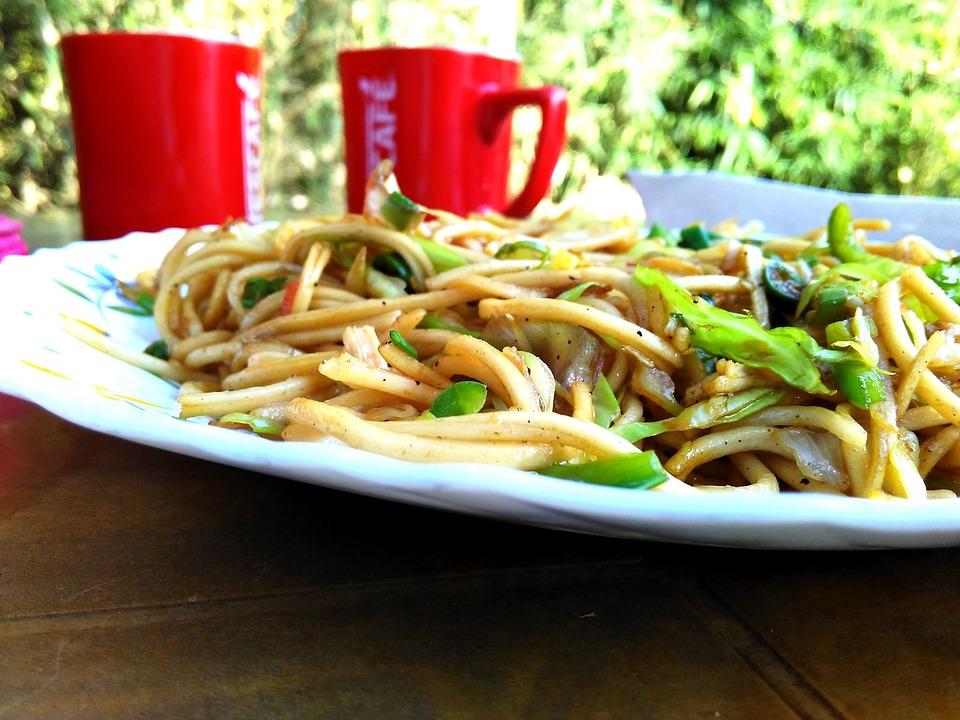 Noodles, Coffee, Food, Meal, Food And Drink