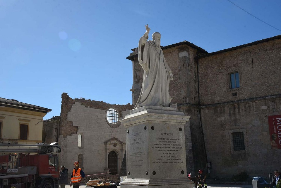 Earthquake, Earthquake Italy, Norcia