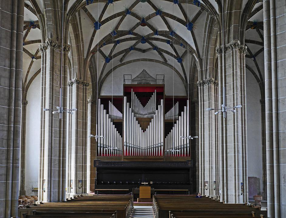 Nordhausen, Cathedral Of The Holy Cross, Nave, Domorgel