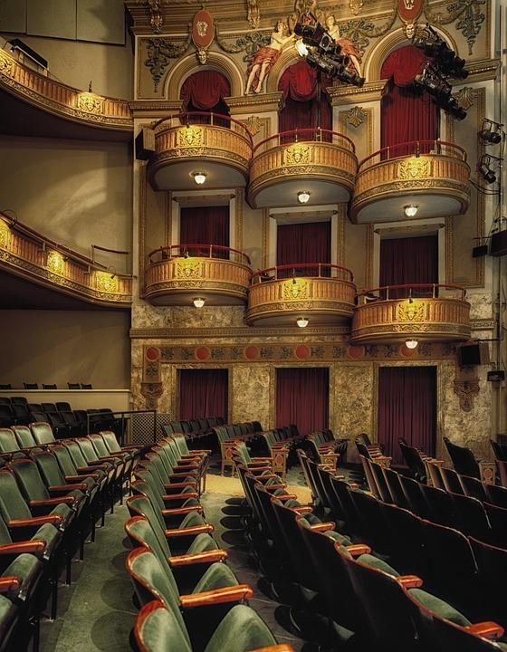 Wells Theatre, Norfolk, Virginian, Seats, Seating