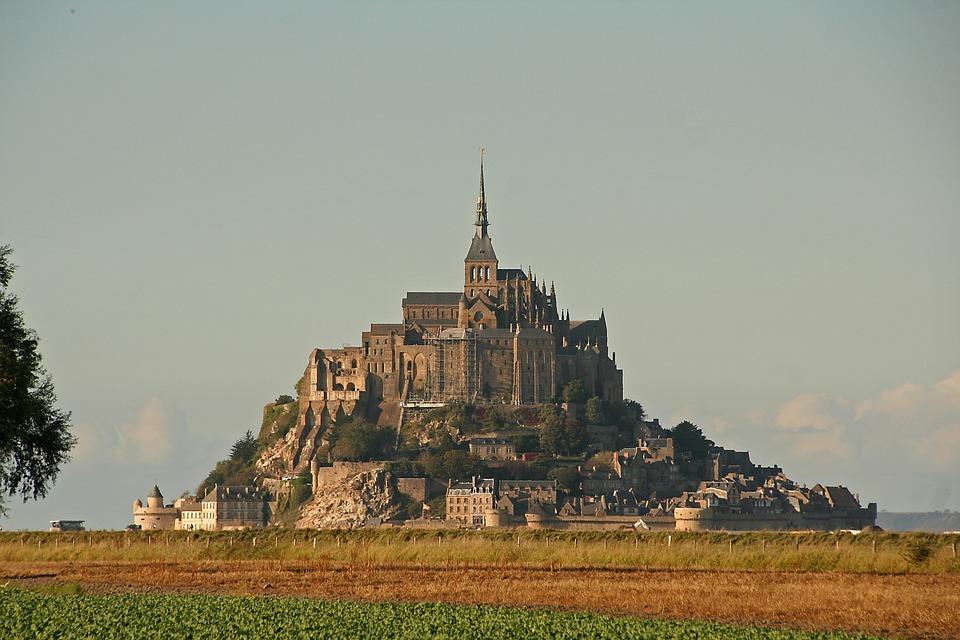 Mont Saint Michel, Monastery, Normandy, France, Church