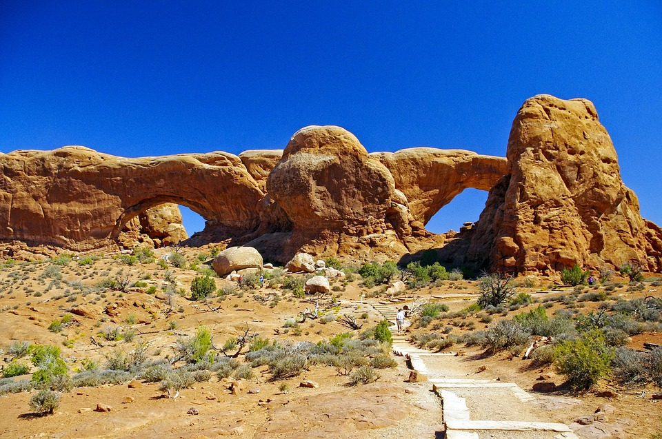 North And South Window Arches, Arches, National, Park