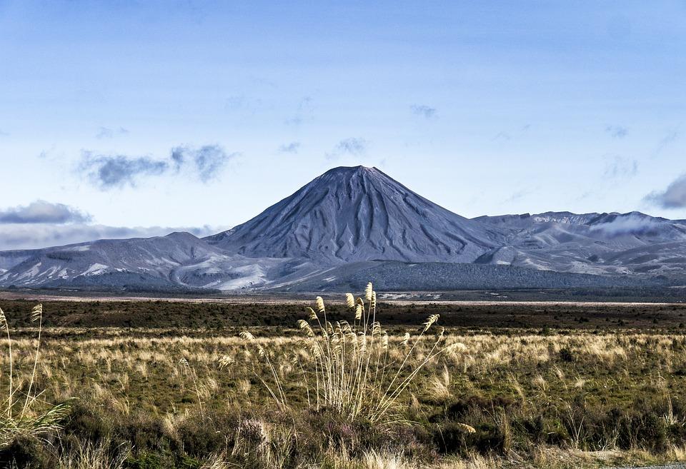 Volcanic, Cone, North, Island, Nz
