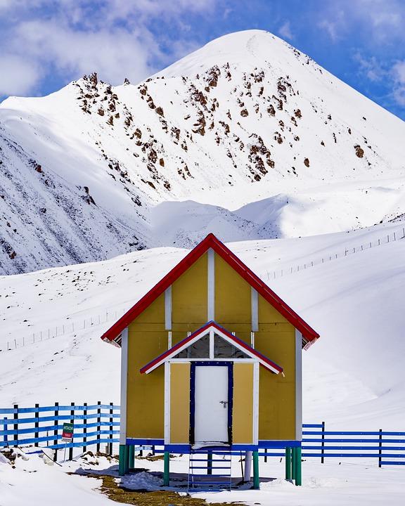 Khunjrab, Pass, Pak, China, Border, Gb, North, Pakistan