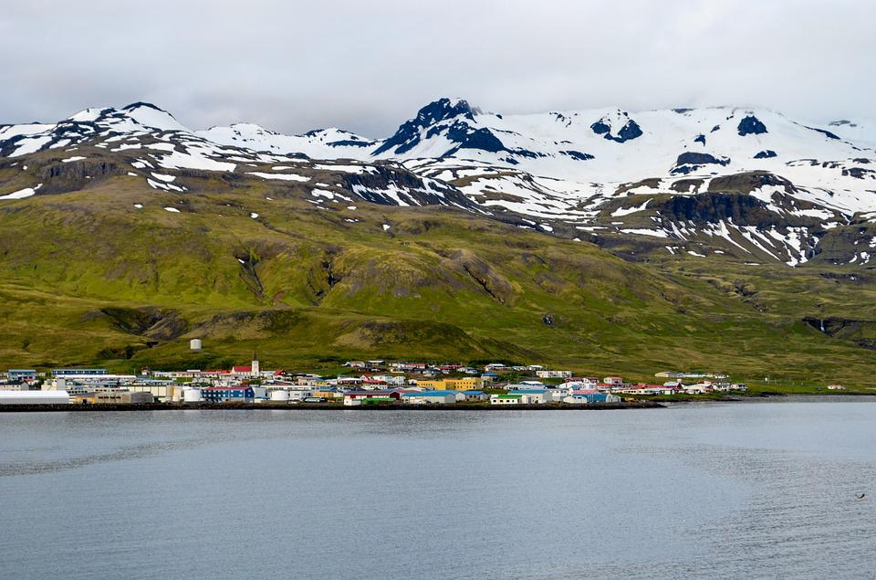 Spitsbergen, North Pole, In The Summer
