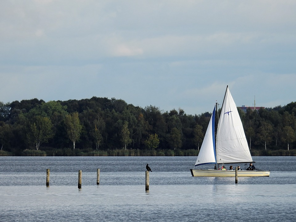 Boot, Ship, Sailing Boat, Water, Lake, North Sea