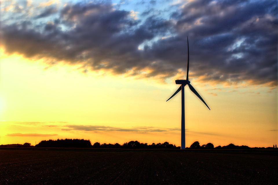 Pinwheel, Northern Germany, Wind Turbine, Environment
