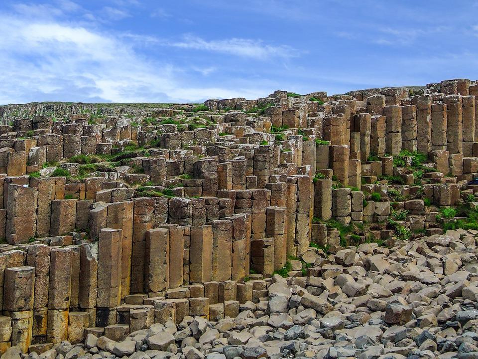 Giants Causeway, Northern Ireland, Antrim, Volcanic