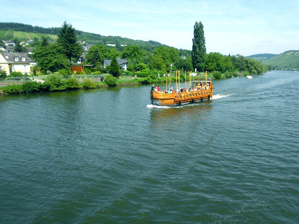 Mosel, Viking Ship, Northern Men, Icelanders, Replica