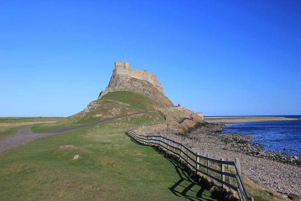 Lindisfarne Castle, Northumberland, Castle Trail