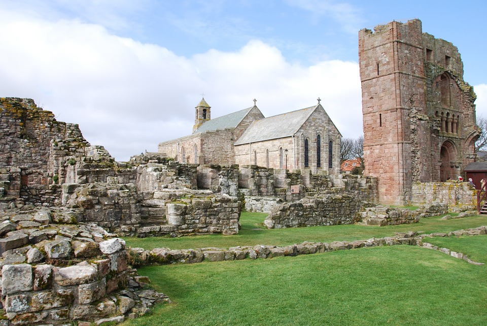 Church, Lindisfarne, Northumberland, Worship, Chapel