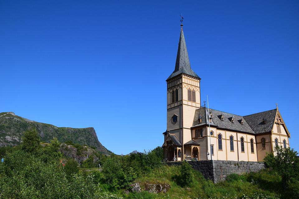 Church, Norway, Architecture, Building, Historically