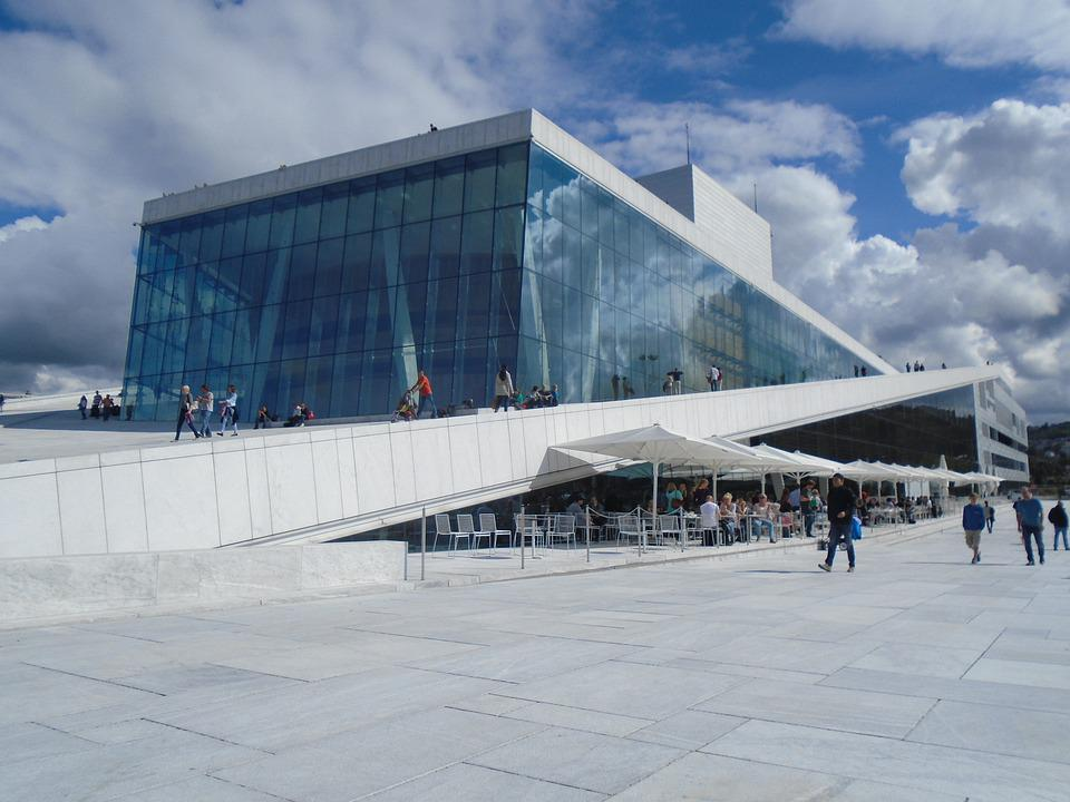 Opera, Oslo, Ar, Architecture, Norway