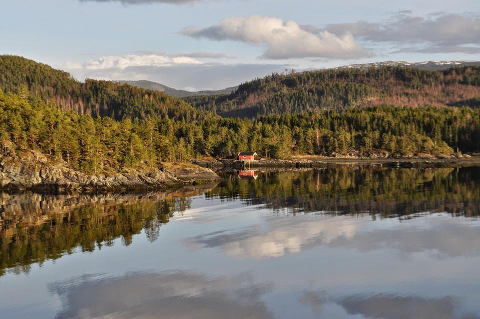 åsenfjord, Norway, Trondheim, Fjord, Landscape, Nature