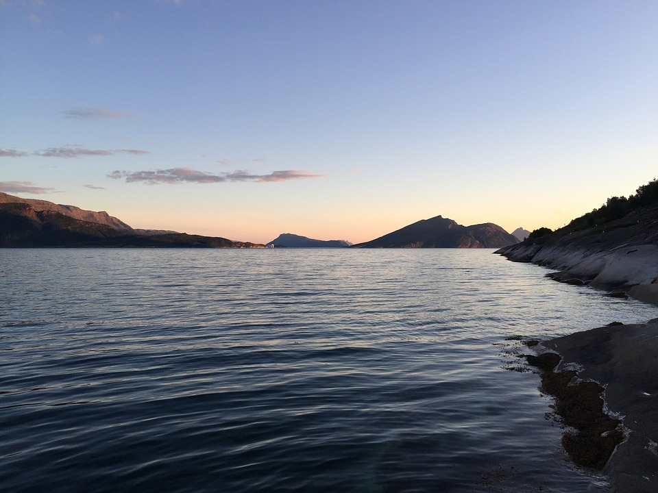 Norway, Nature, Water, Sea, Summer