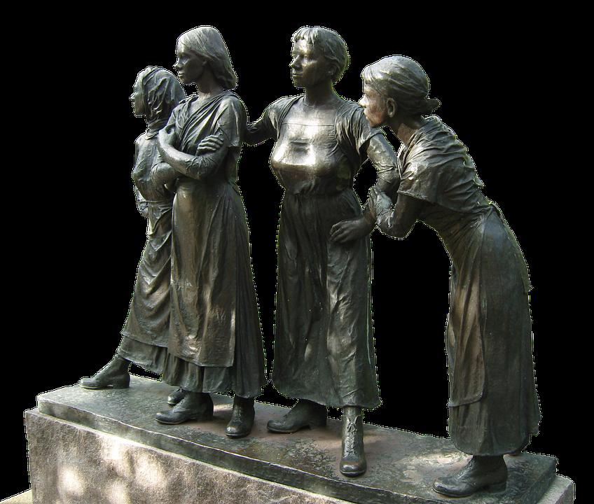 Art, Sculpture, Women, Personal, Group, Oslo, Norway