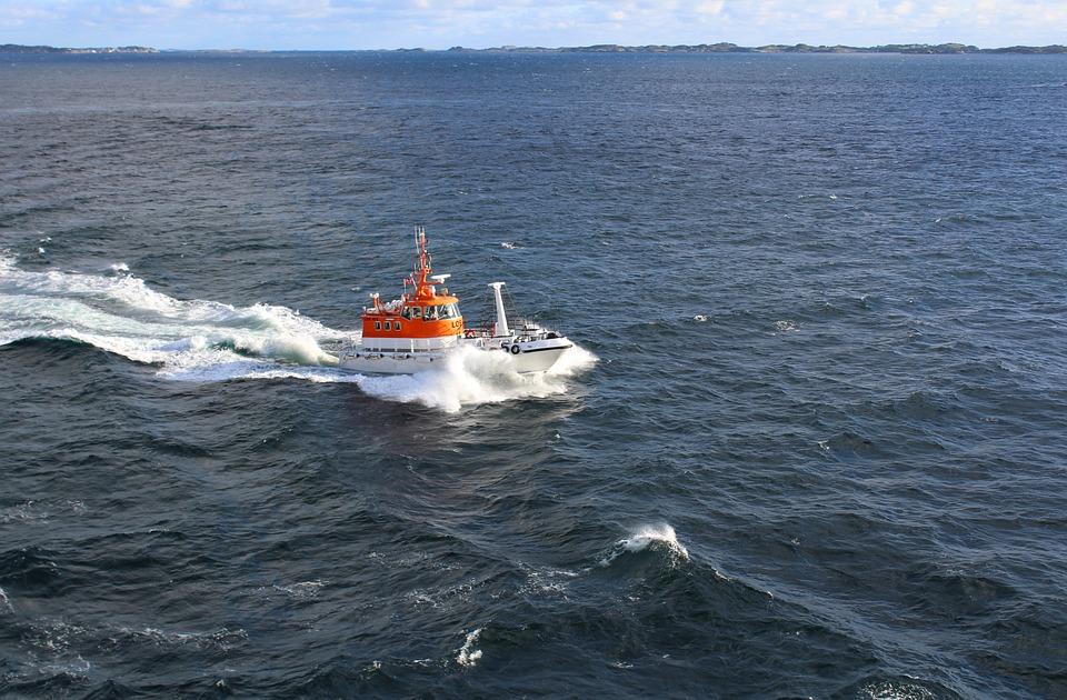 Pilot Boat, Norwegian Fjord, Seas, Aeronaut Pilot, Sail