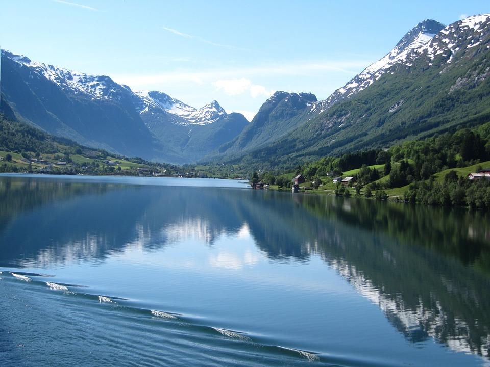 Norway, Fjord, Norwegian, Cruise, Beautiful
