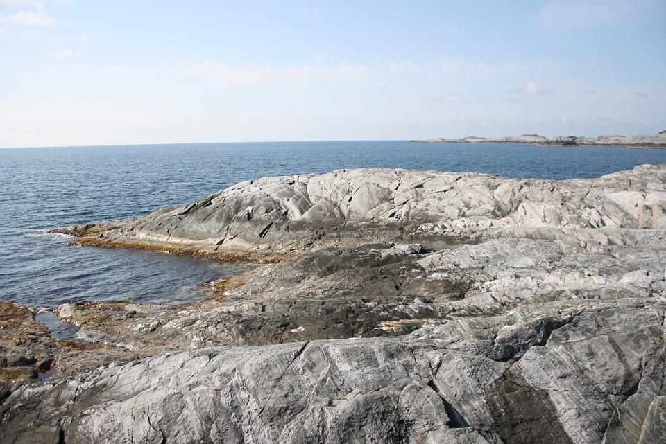 Fjord, Norway, Norwegian, Ocean, Rocks, Coastline
