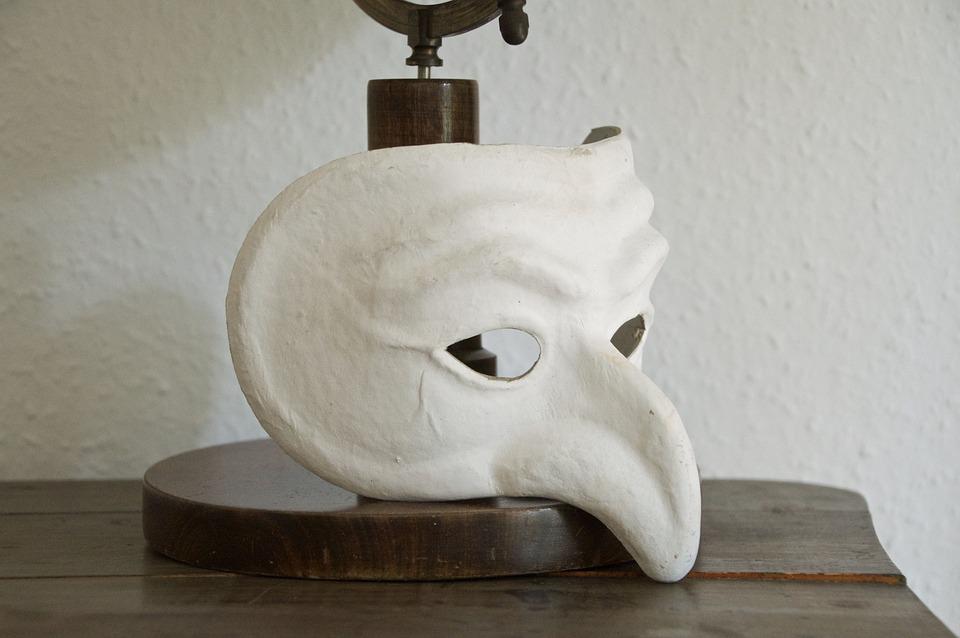 Mask, Pulcinella, Pulcinella Mask, Nose, Theater