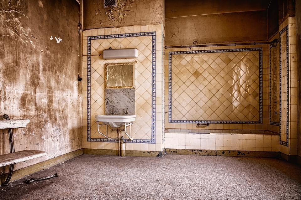 Bad, Art Nouveau, Architecture, Pforphoto, Nostalgia