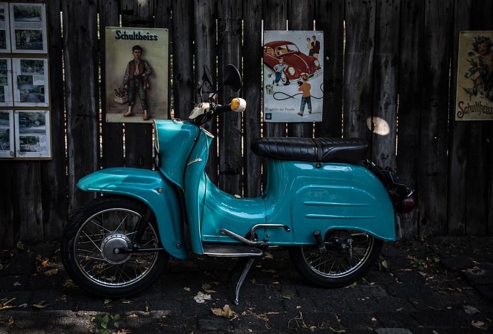 Motor Scooter, Schwalbe, Locomotion, Nostalgia