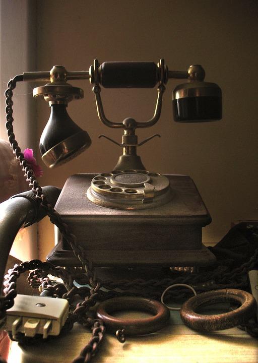 Free photo Nostalgic Communication Old Telephone Vintage