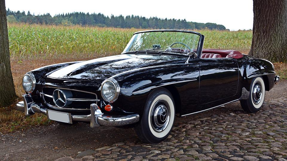 Free photo Nostalgic Oldtimer Classic Mercedes 190 Sl 190sl - Max Pixel
