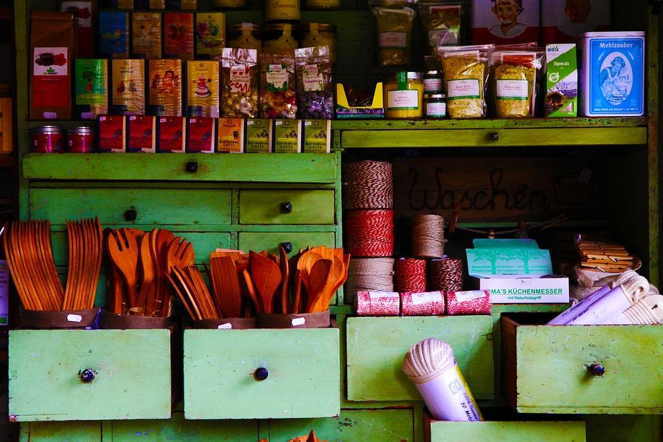 Village Shop, Nostalgic, Museum, Iller Beuren