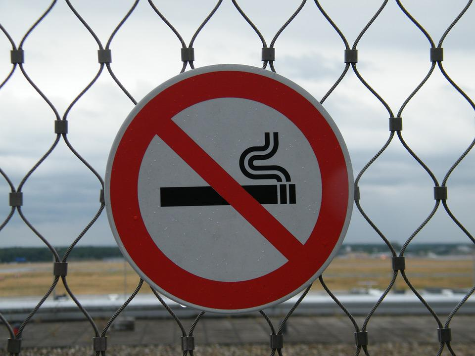 Non Smoking, Prohibited, Shield, Smoking, Note, Board