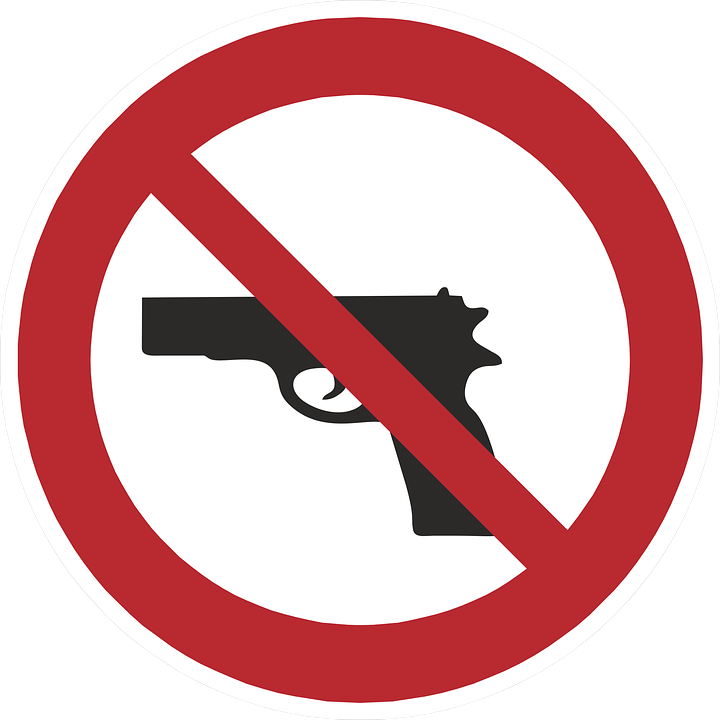 Shield, Ban, Prohibitory, Prohibited, Note, Weapon